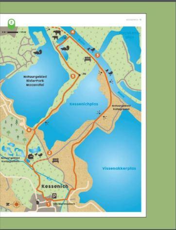 Pagina uit Lannoo reisdichtbijboek