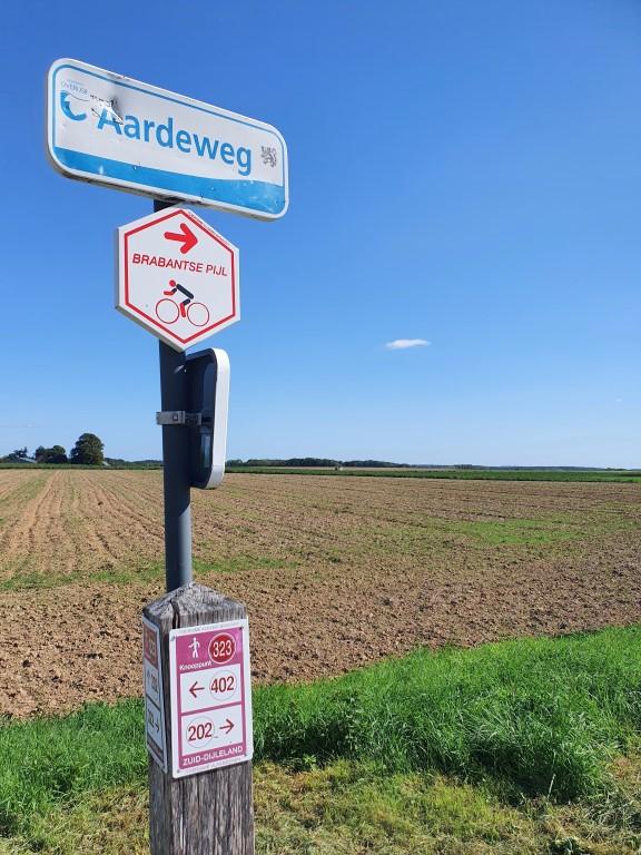Wandelingen de Druivenstreek (Groene Gordel, Vlaams-Brabant) Langs wandelknooppunten