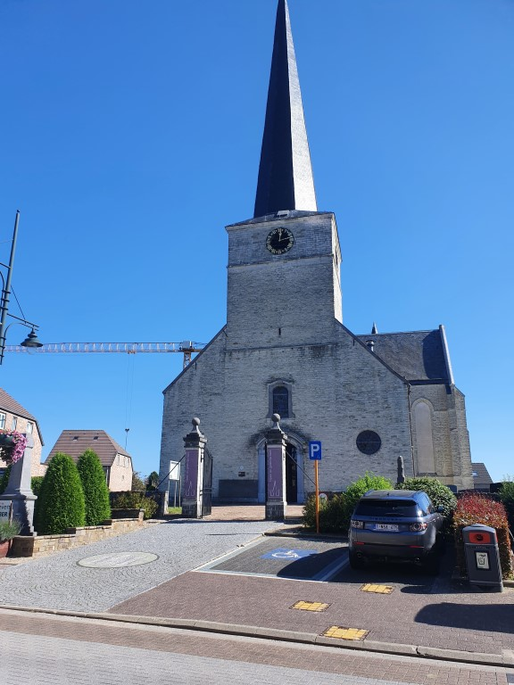 Wandelingen de Druivenstreek (Groene Gordel, Vlaams-Brabant) Kerk Duisburg