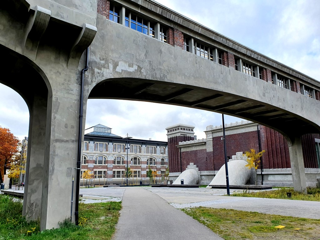 Thorpark: industriële architectuur uit gouden tijden van de mijnbouw.
