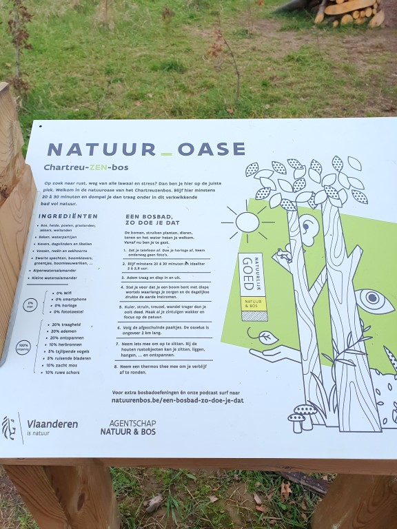 bosbaden natuuroase Chartreuzenberg