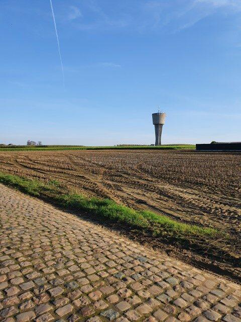 Veertigbundersbergwandeling - de watertoren blijft je in het oog houden. Of is het omgekeerd?