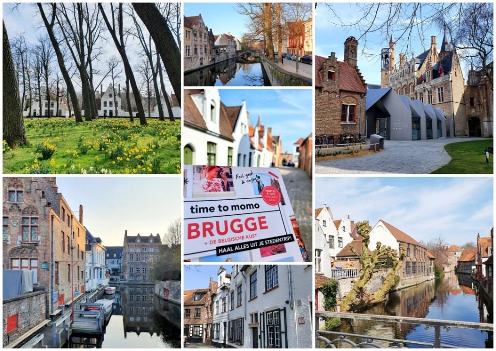 collage stadswandeling Brugge