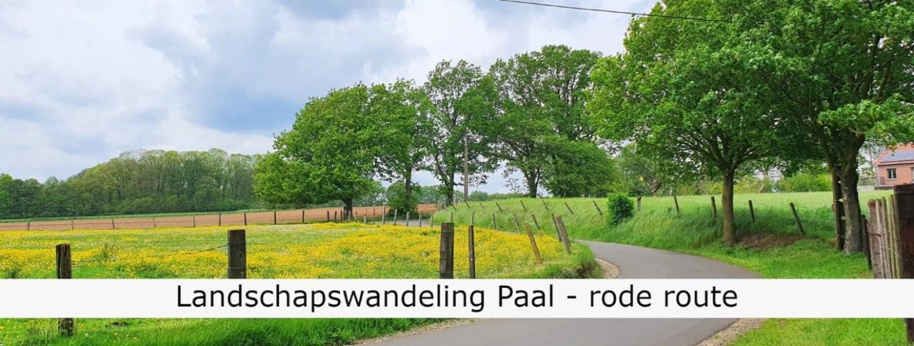 Wandeling Paal