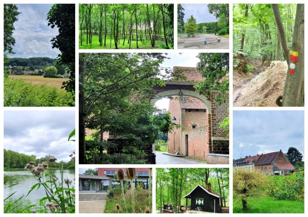 collage Vlierbergwandeling