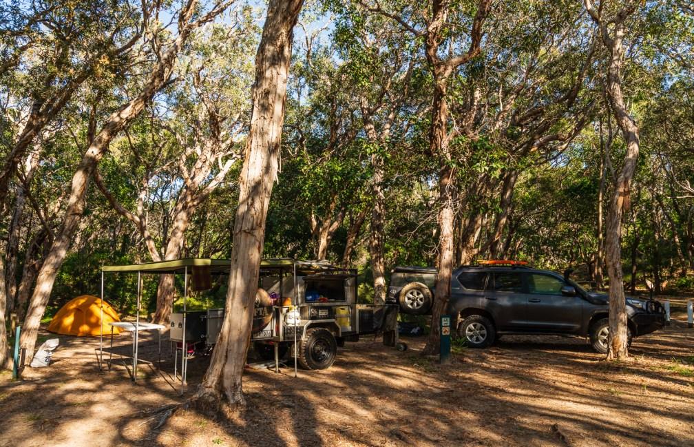 Dundabara campground