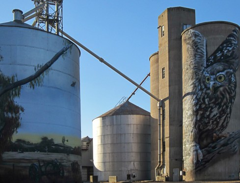 Painted Silo