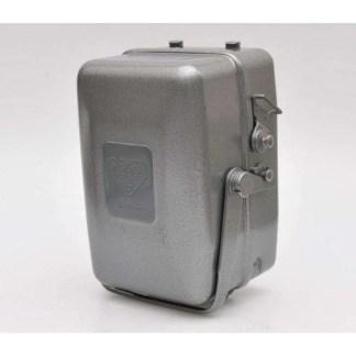 metalen camera box Rolleiflex 4x4