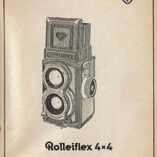 Rolleiflex 4x4 reparatie instructies