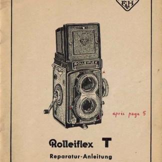 Rolleiflex-T reparatie handleiding