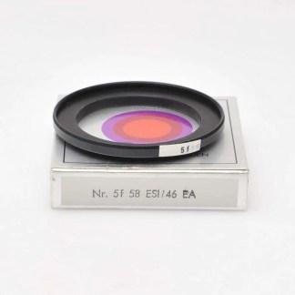 B+W Filter adapter 5f