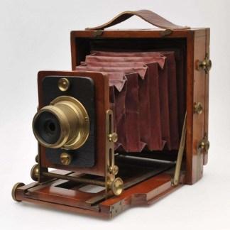 Lancaster Instantograph wooden plate camera 1890