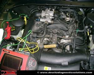 Misfire   2000 Lincoln LS   COP Coil Testing   Dewitz Diagnostic Solutions   Automotive Training