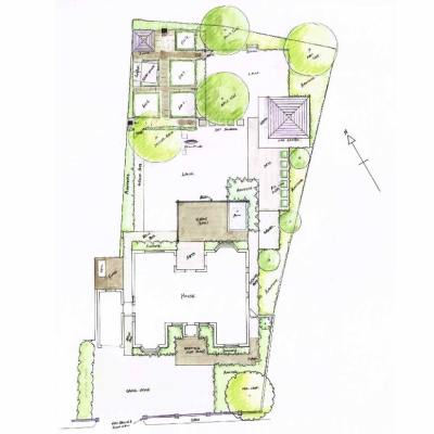 Full Redesign of Family Home Sketch Plan, Whitegates