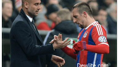Franck Ribbery Blasts Pep Guardiola Over lack of Trust