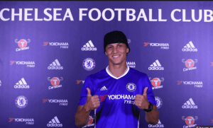 Former Stamford Bridge fans favourite David Luiz is back