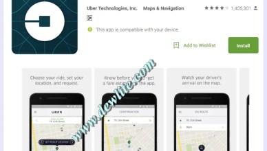 Uber download