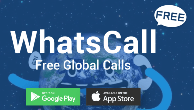 WhatsCall App Free Download, Free calling apps