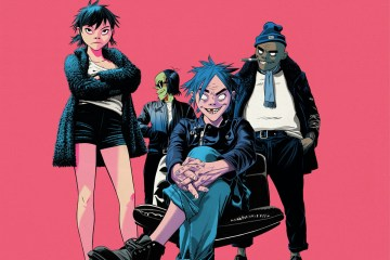 Gorillaz new album THE NOW NOW is out now!