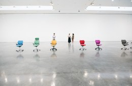 Urs Fischer's 'PLAY' Lets You Dance with Chairs