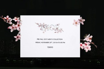 Watch Dior Men's Pre-Fall 2019 Show Livestream