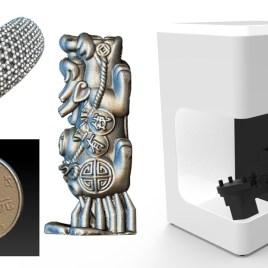 Schmuck 3D Scanner, vollautomatische High-Performance 3D Scanner