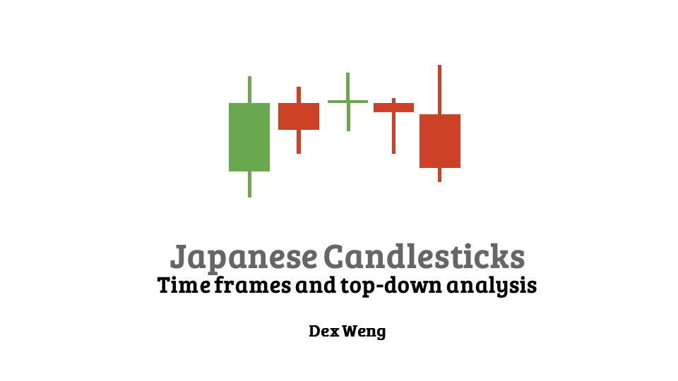 Japanese Candlesticks – Time frames and top-down analysis