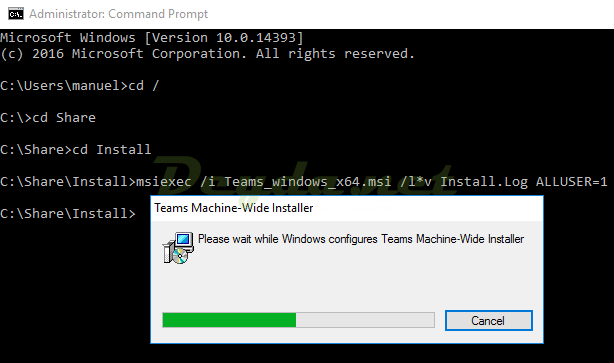 Teams Machine-Wide Installer