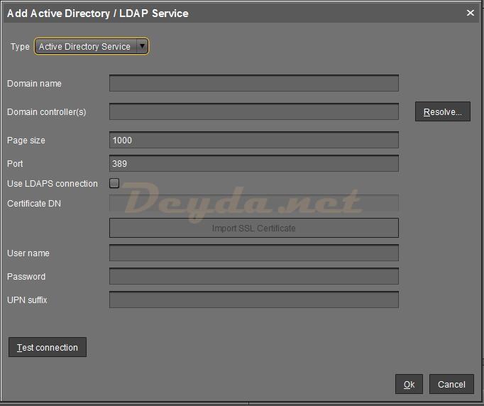 Igel UMS Console LDAPS