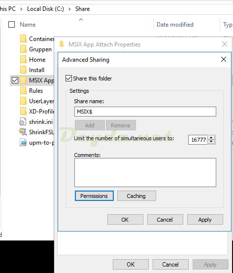 File Server share