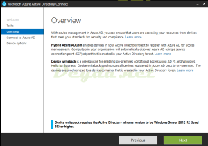 Overview Hybrid Azure AD join Device writeback