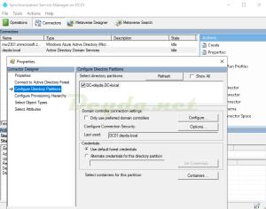 Configure Directory Partitions