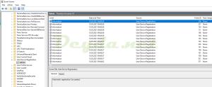 Microsoft Windows User Device Registration Admin