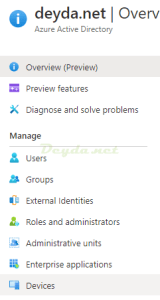 Azure Active Directory Devices