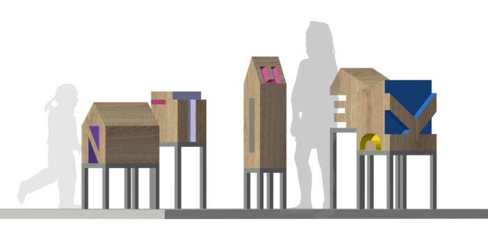De Gedenktuin voor kinderen in ontwerp concept
