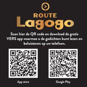download voor VERS app Route Lagogo