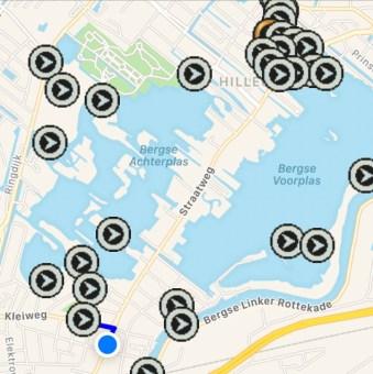 Route Lagogo in de VERS app