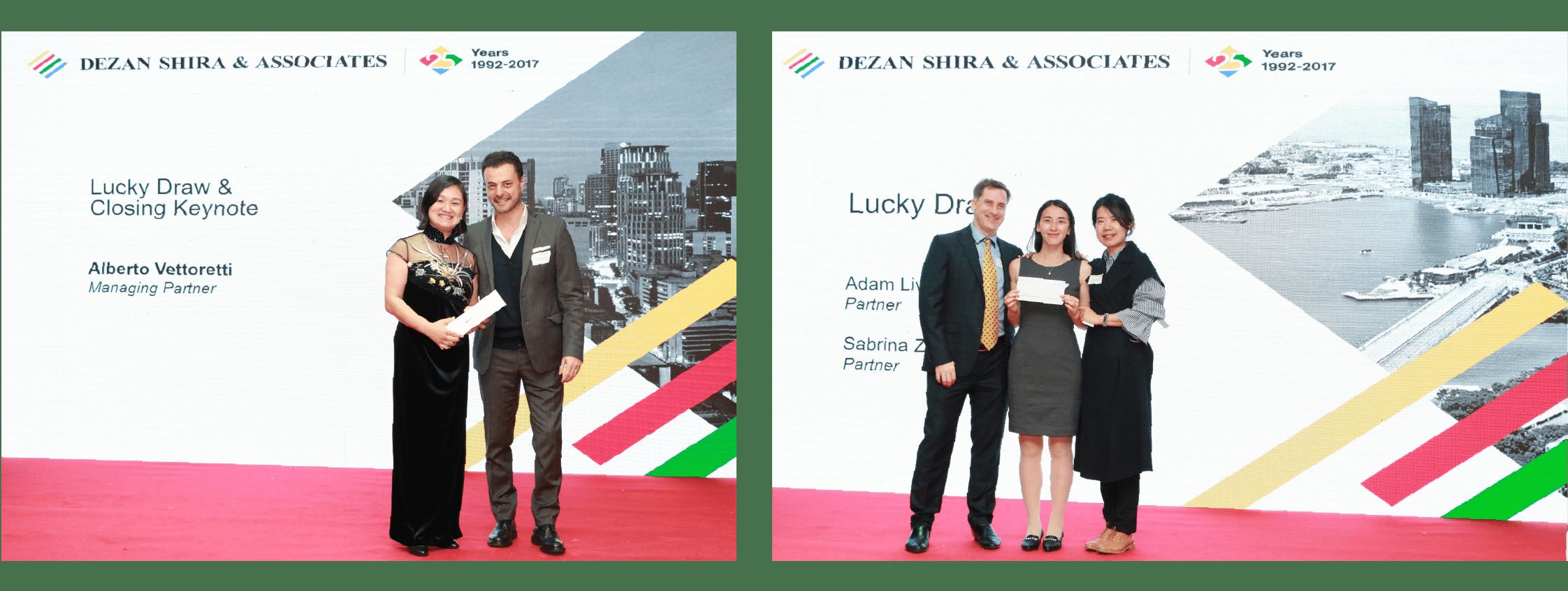 Dezan Shira & Associates' 25th anniversary lucky draw