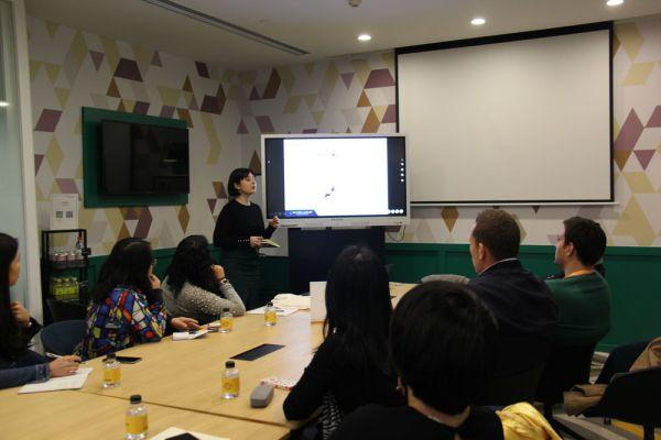 Valeria Manunza speaks on Trade War in Guangzhou