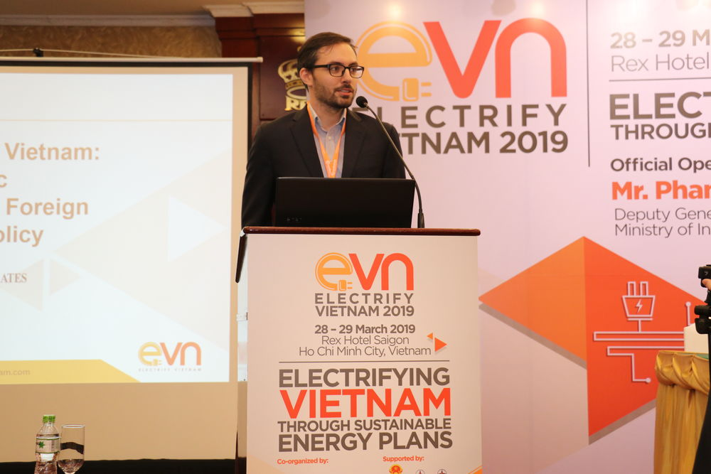 Maxfield Brown Speaking at Electrify Vietnam 2019