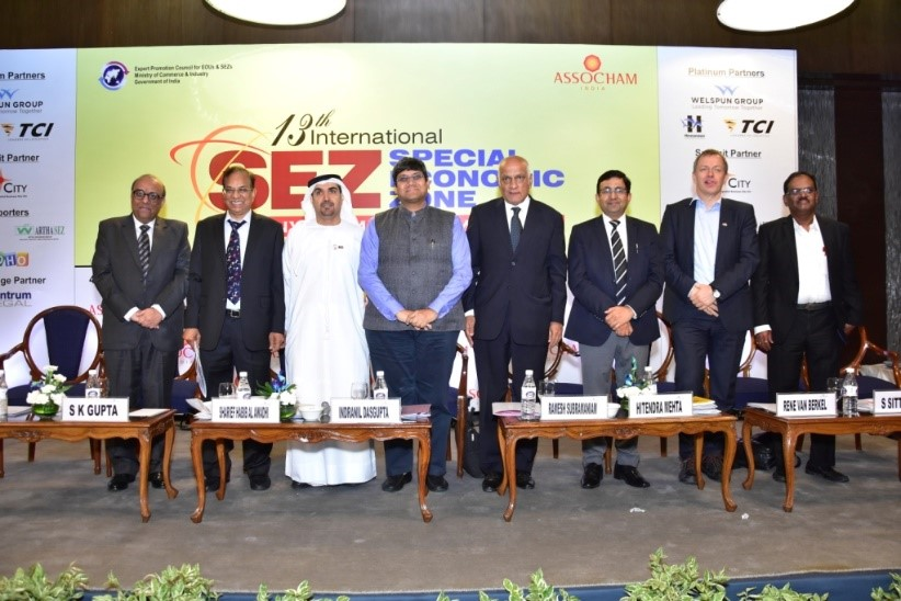 Speakers at the 13th international special economic zone invesment summit