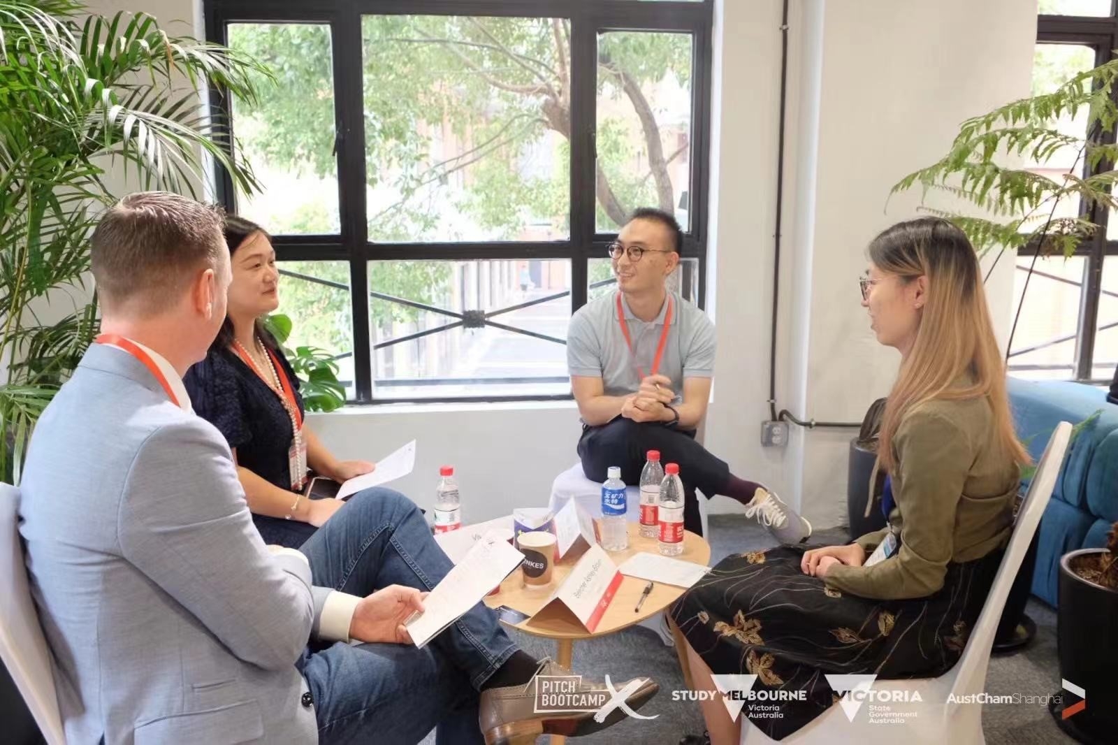 Vivian Mao Mentors Young Professionals at Study Melbourne Hub's Pitch Bootcamp