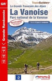 Wandelgids ref 530 - GR5 Parc national de la Vanoise - Franse Alpen | FFRP