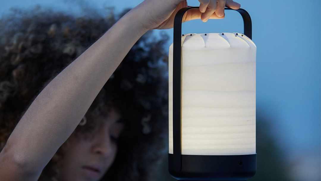 Lampe Led Bois Design - Lampe nomade