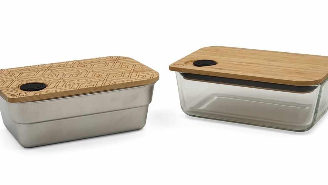 Lunchbox zéro déchets - set en verre