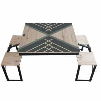 Table Dezyco motif Triangle Sail