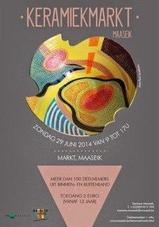 Keramiekmarkt Maaseik 2014
