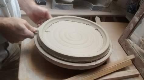 Handgevormde keramiek