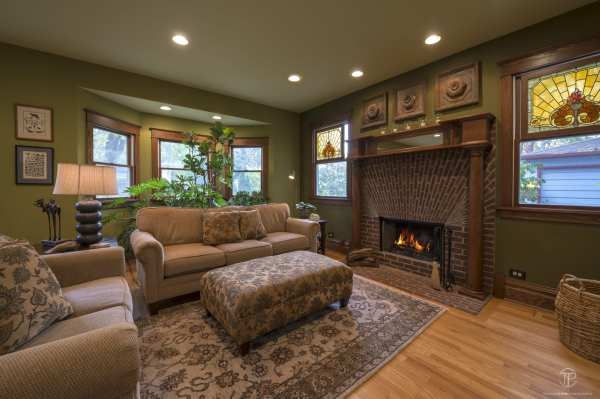 Featured Residence  – Interior Design & Custom Home Renovation of 100 Year Old Craftsman Style Home in Geneva, Illinois