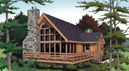 Top 10 Best Selling Lake House Plans   2 Will Make You Jealous   DFD     12
